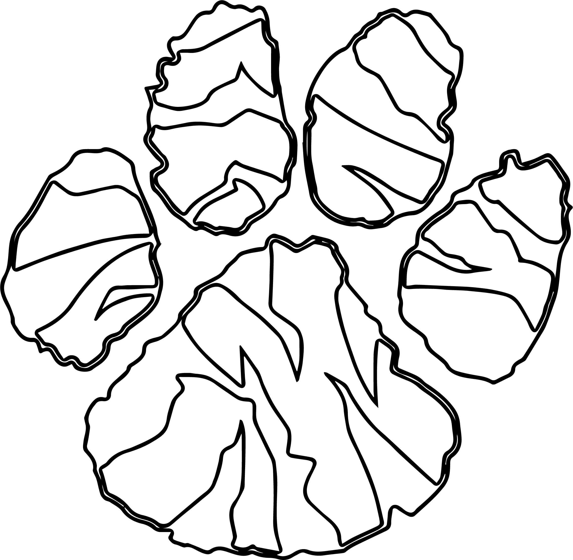 Tiger Forest Footprint Coloring Page