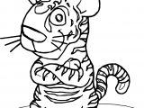 Tiger Mouse Rat Coloring Page