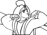Walt Disney Prince Aladdin Walt Disney I Am Strong Characters Coloring Page