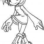 Actress Amy Rose Coloring Page