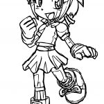Admire Amy Rose Coloring Page