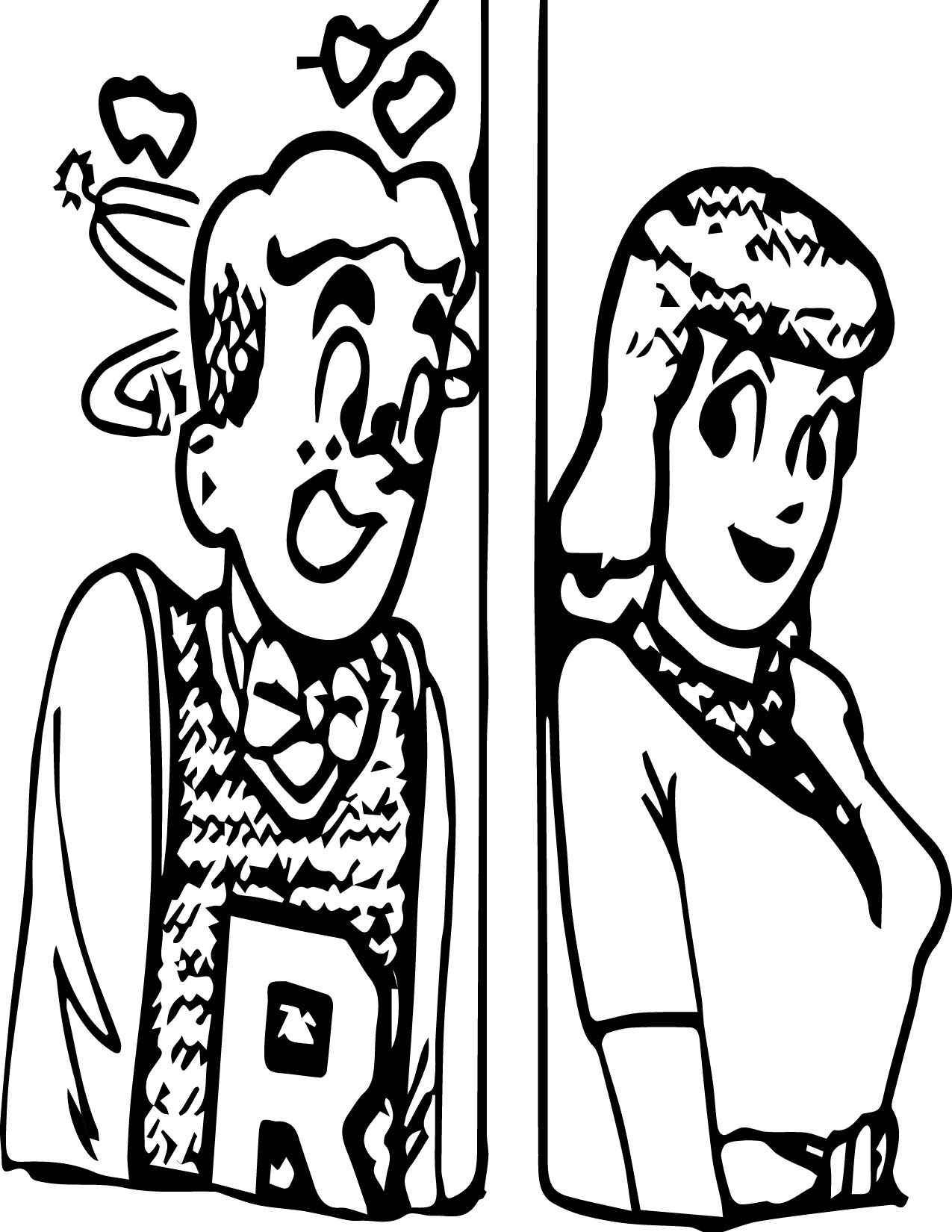Afp Archie Charlotte Olympia Coloring Page