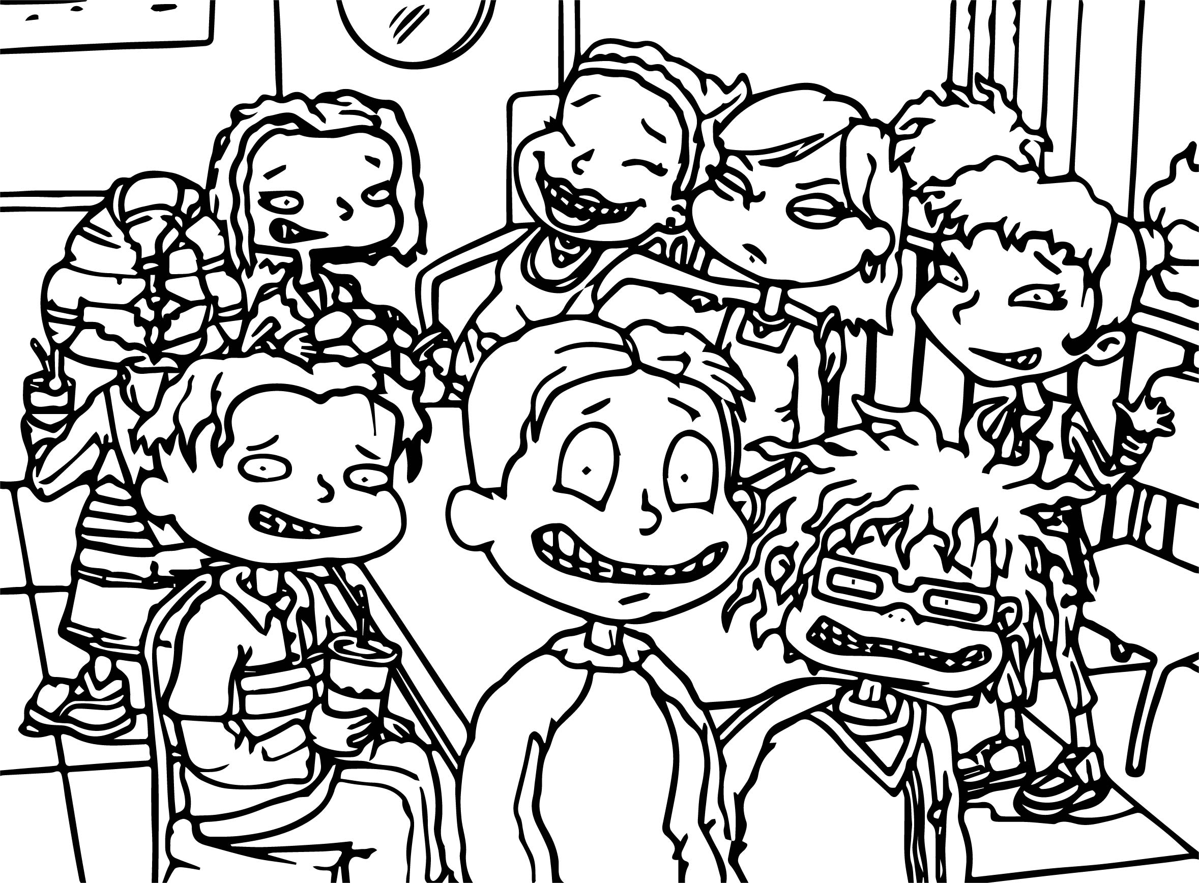 All Grown Up Photo Coloring Page