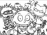 All Grown Up Screenshot Coloring Page