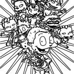 All Grown Up Wallpaper Coloring Page
