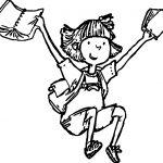 Amelia Bedelia Finish School Coloring Page
