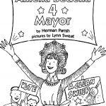 Amelia Bedelia Mayor Coloring Page