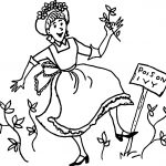 Amelia Bedelia Poison Ivy Coloring Page