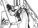 Amelia Bedelia Rice Coloring Page