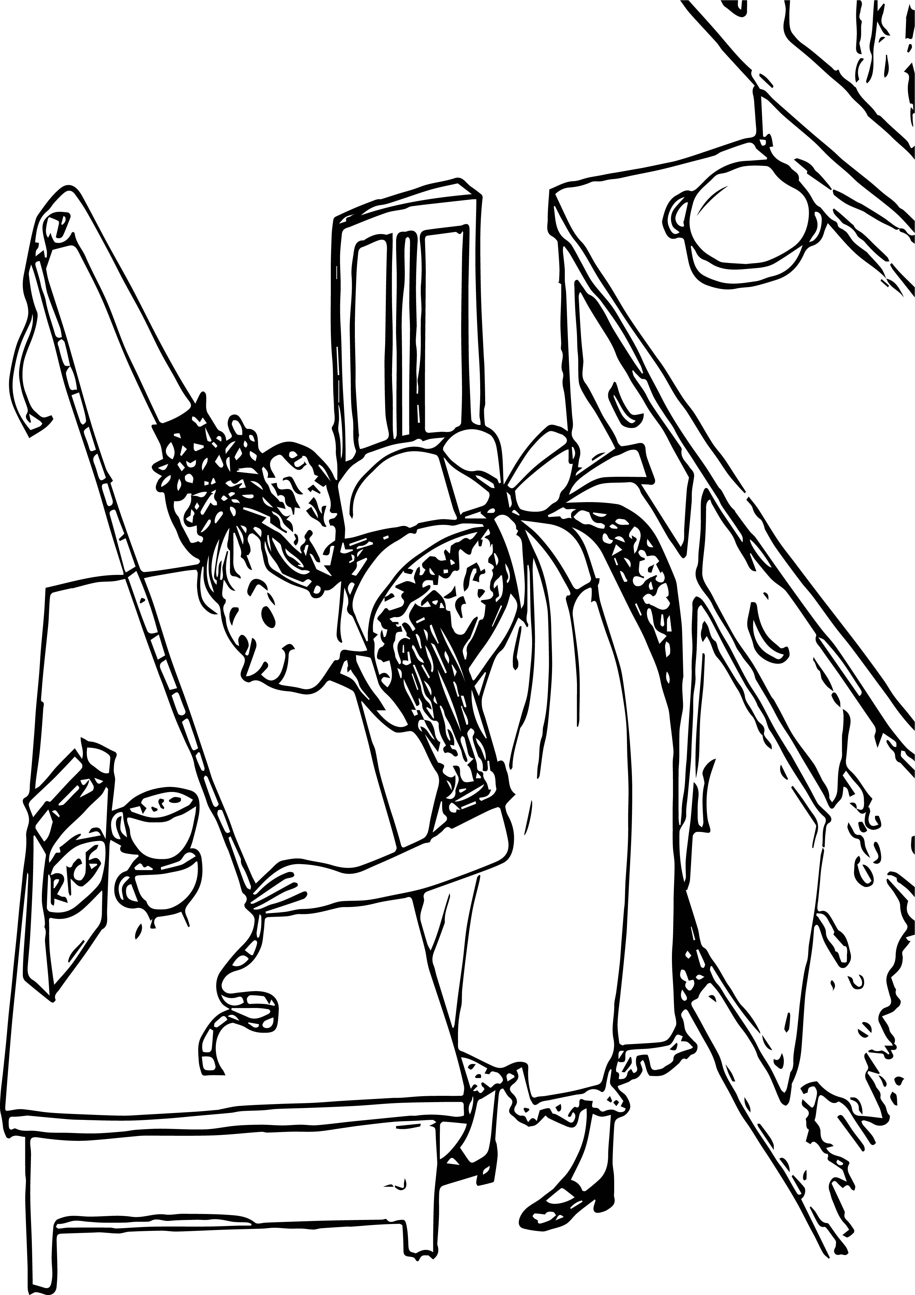 rice coloring pages for kids | Amelia Bedelia Rice Coloring Page | Wecoloringpage.com