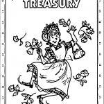 Amelia Bedelia Treasury Coloring Page