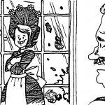 Amelia Bedelia Window Coloring Page