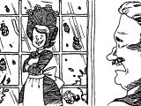 Amelia Bedelia Window Coloring Page