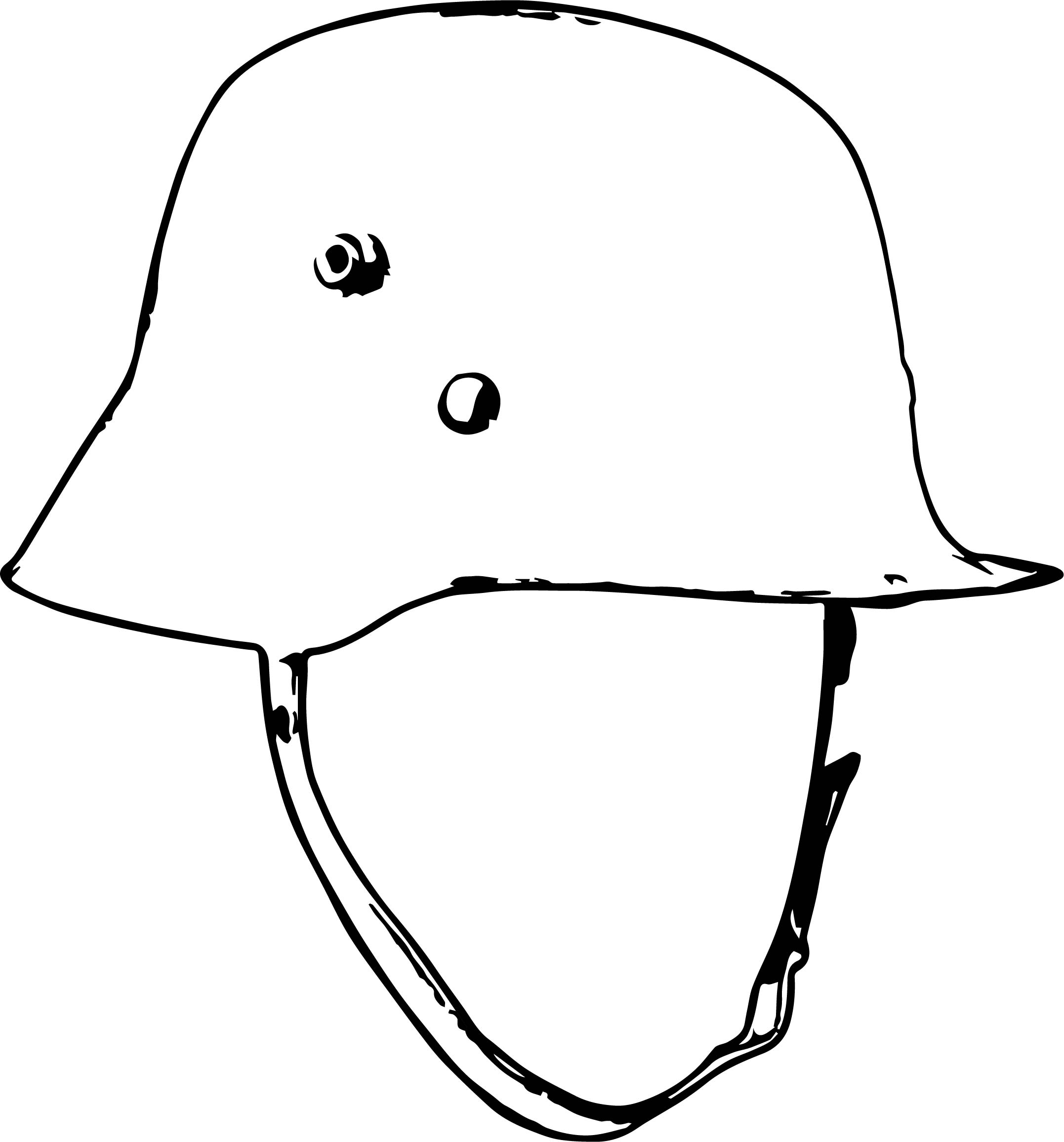 American British And German Uniforms Helmet Coloring Page