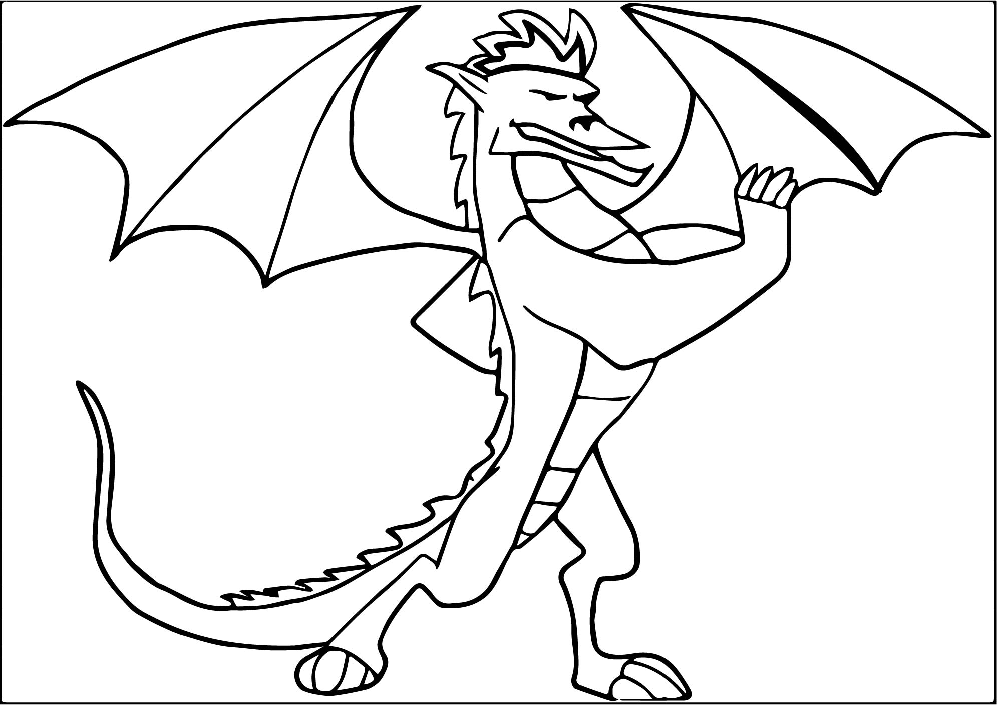 americon dragon coloring pages - photo#18