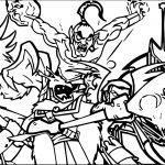 American Dragon Jake Long Enemy Coloring Page