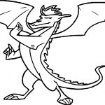 American Dragon Jake Long Fight Ready Coloring Page