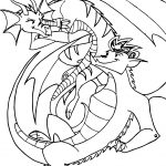 American Dragon Jake Long Girl And Man Coloring Page
