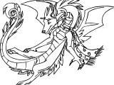 American Dragon Jake Long Girl Dragon Coloring Page
