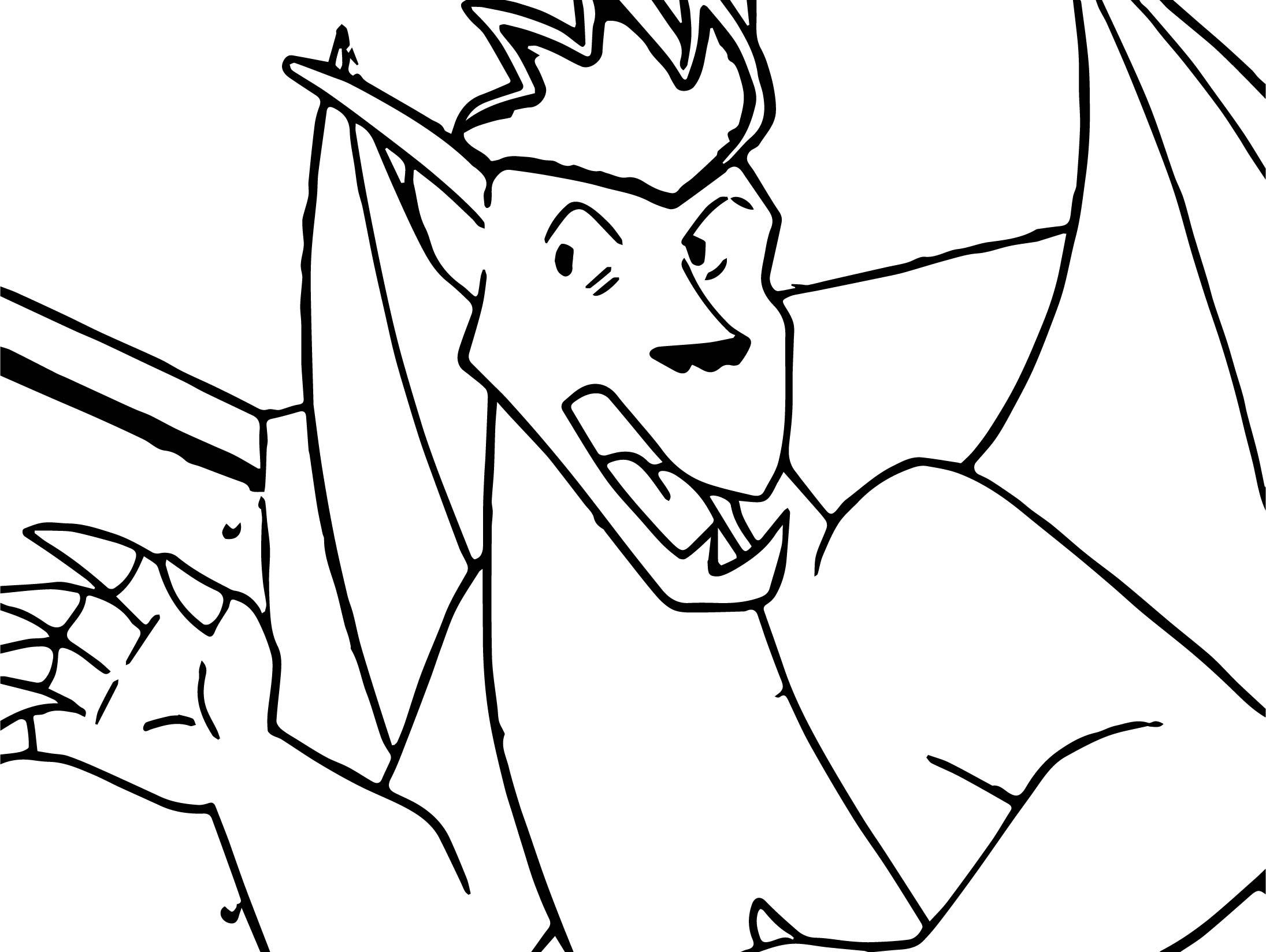 American Dragon Jake Long Hear Coloring Page