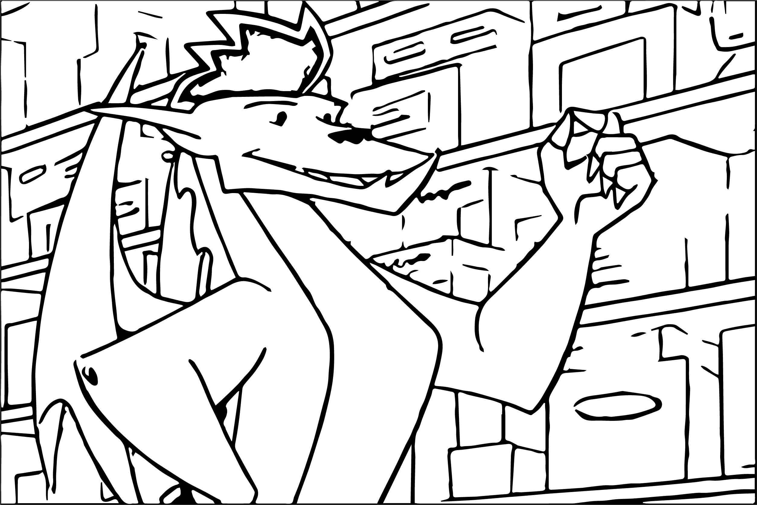 American Dragon Jake Long Little Coloring Page