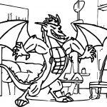American Dragon Jake Long Power Coloring Page