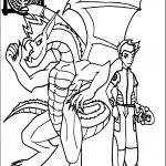 American Dragon Jake Long Power Team Coloring Page