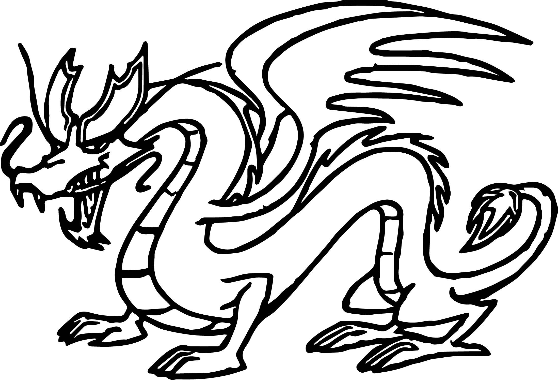 American Dragon Jake Long Statue Coloring Page