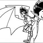 American Dragon Jake Long Times Coloring Page