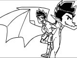 American Dragon Jake Long Times Coloring Page