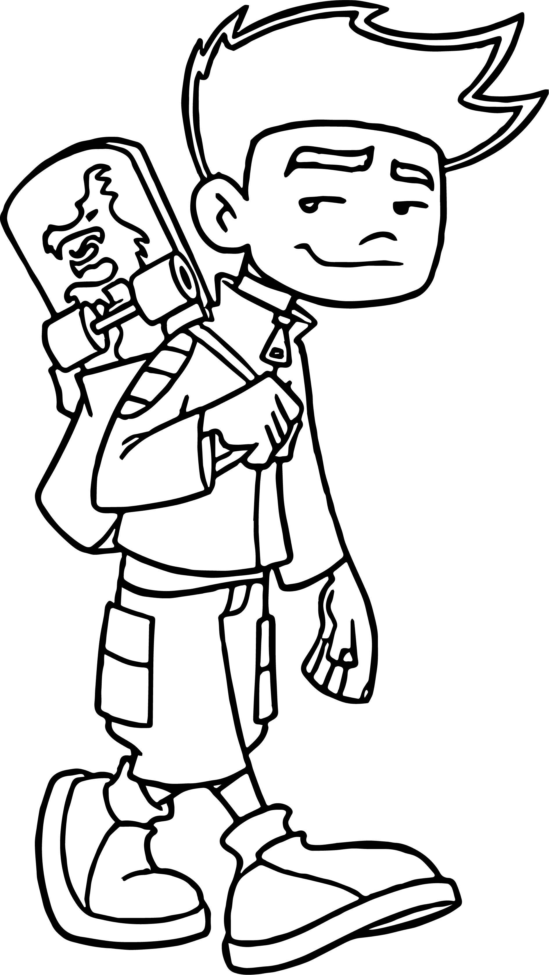 Image Result For Jake Long Coloring Page