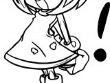 Amy Rose Accent Coloring Page