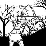 Amy Rose Arrow Coloring Page