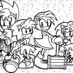 Amy Rose Fine Friends Coloring Page