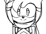 Amy Rose Heart Box Coloring Page
