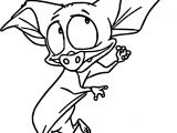 Anastasia Bat Coloring Pages