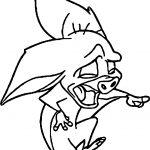 Anastasia Bat Laugh Coloring Page
