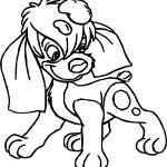 Anastasia Dog Coloring Pages