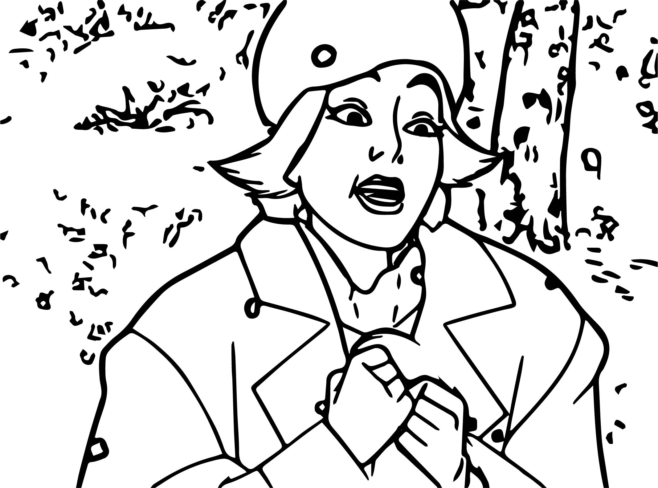 Anastasia In Russia Coloring Page