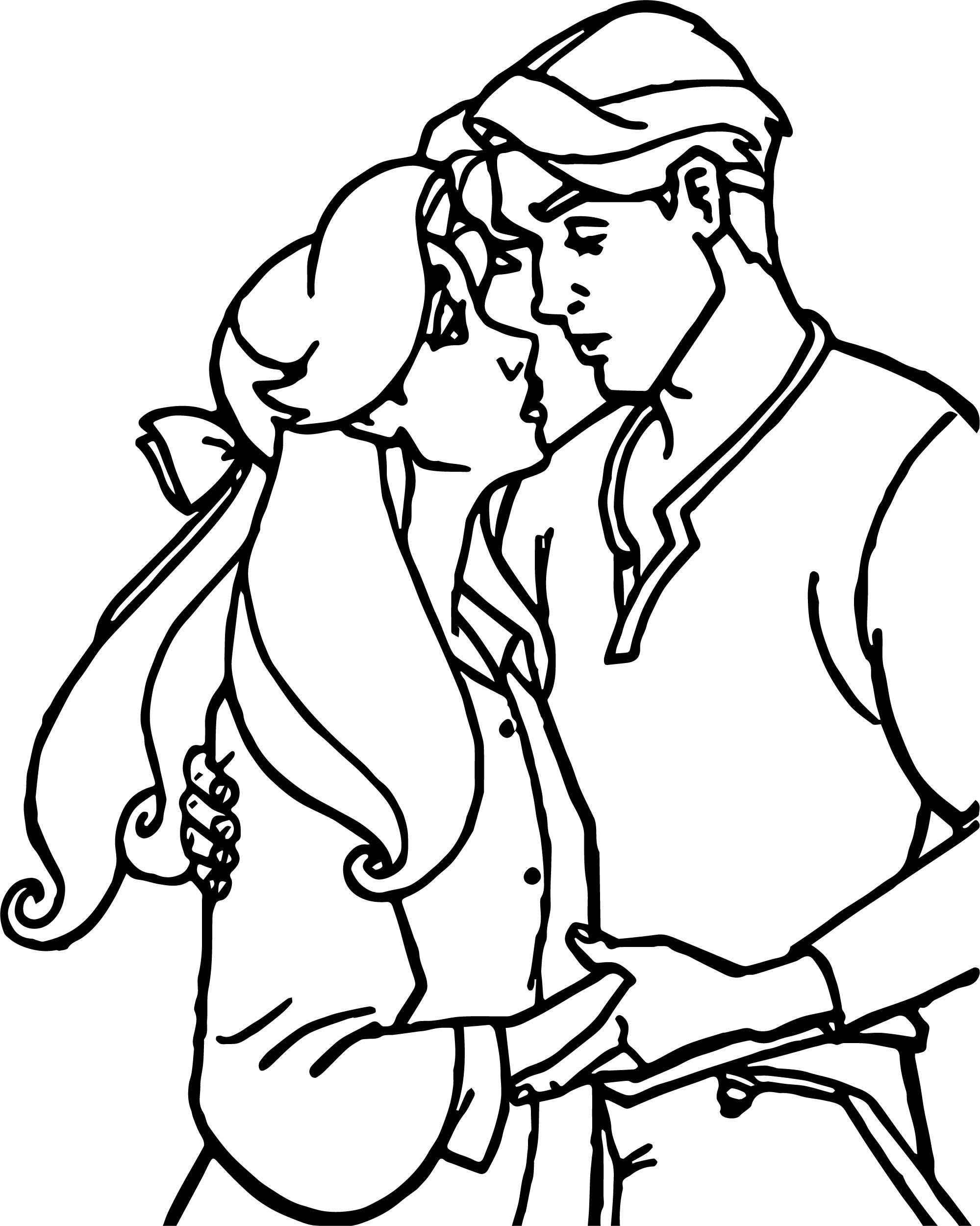 Anastasia Love Image Coloring Page