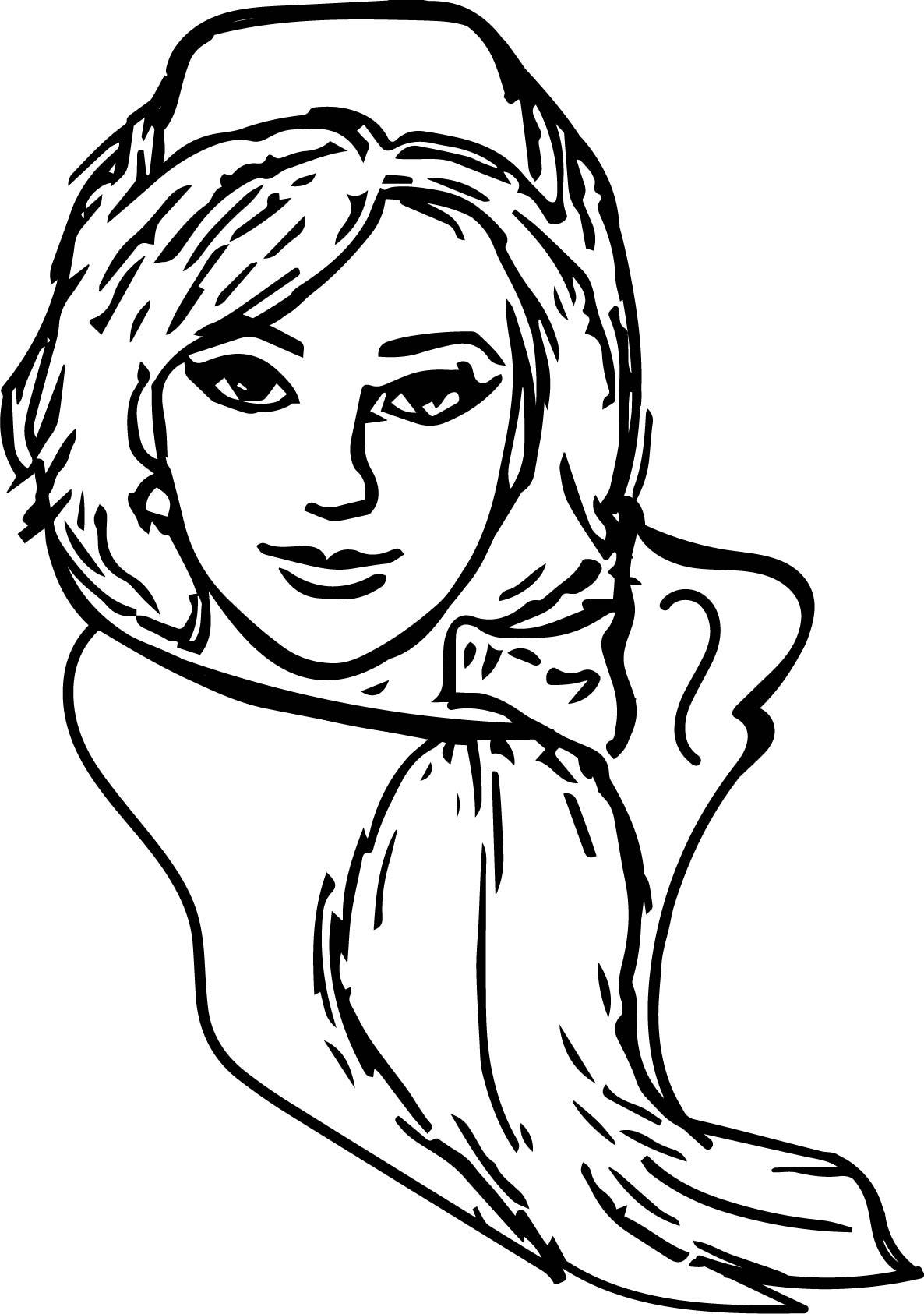 Anastasia Nurse Coloring Page