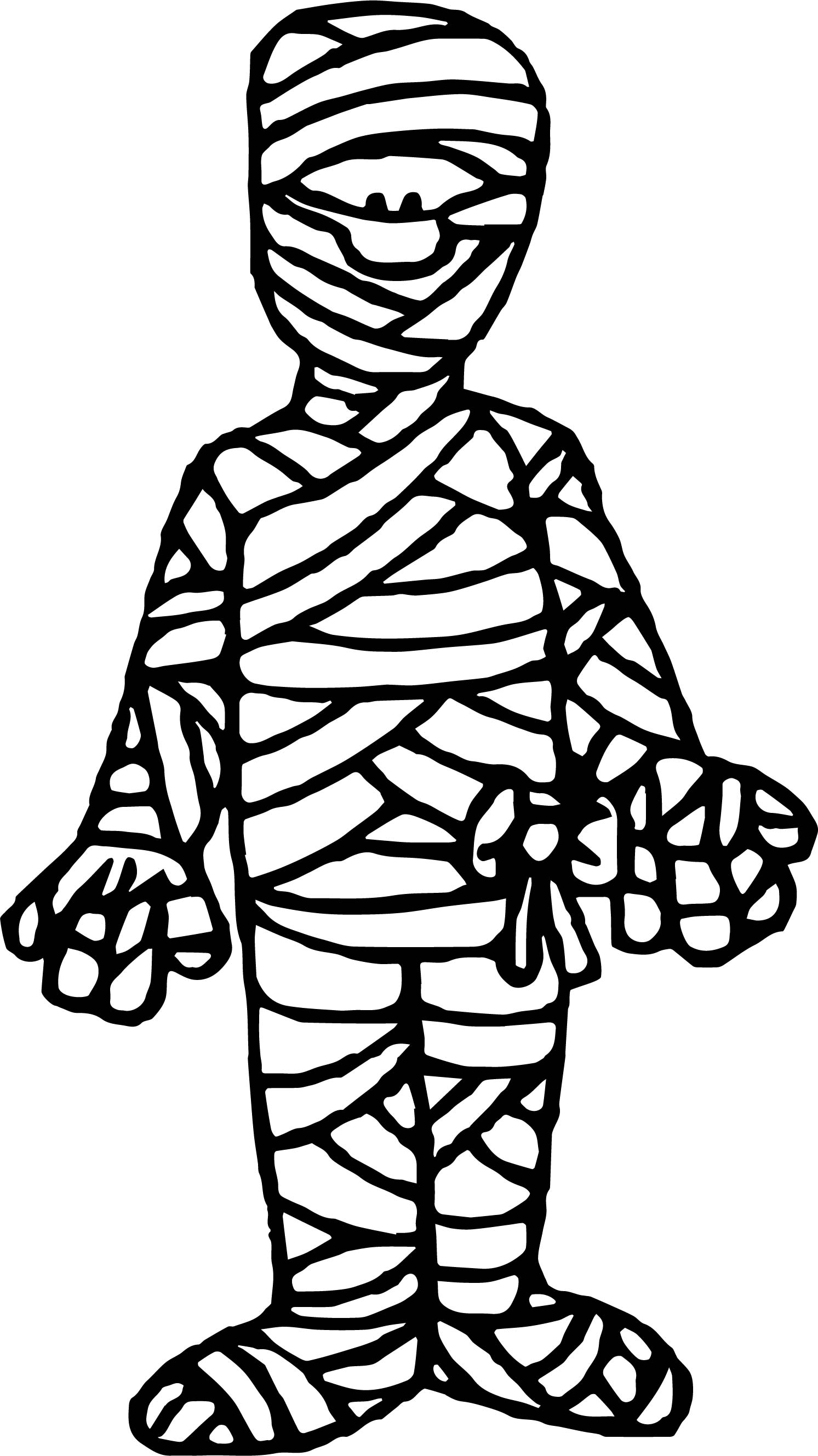 egyptian mummy coloring pages - ancient egypt mummy coloring page