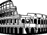 Ancient Rome Coloring Page