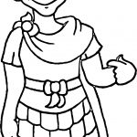 Ancient Rome King Me Coloring Page