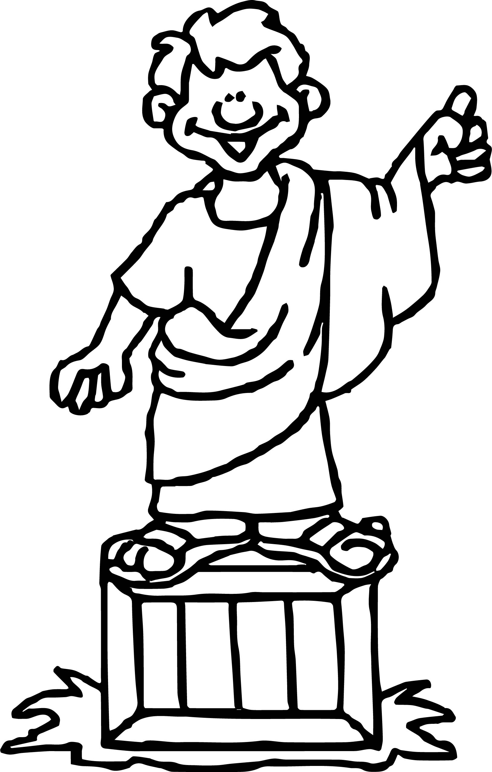 ancient roman coloring pages | Ancient Rome Talk Coloring Page | Wecoloringpage.com