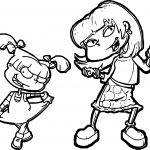 Angelica Pickles Coloring Page