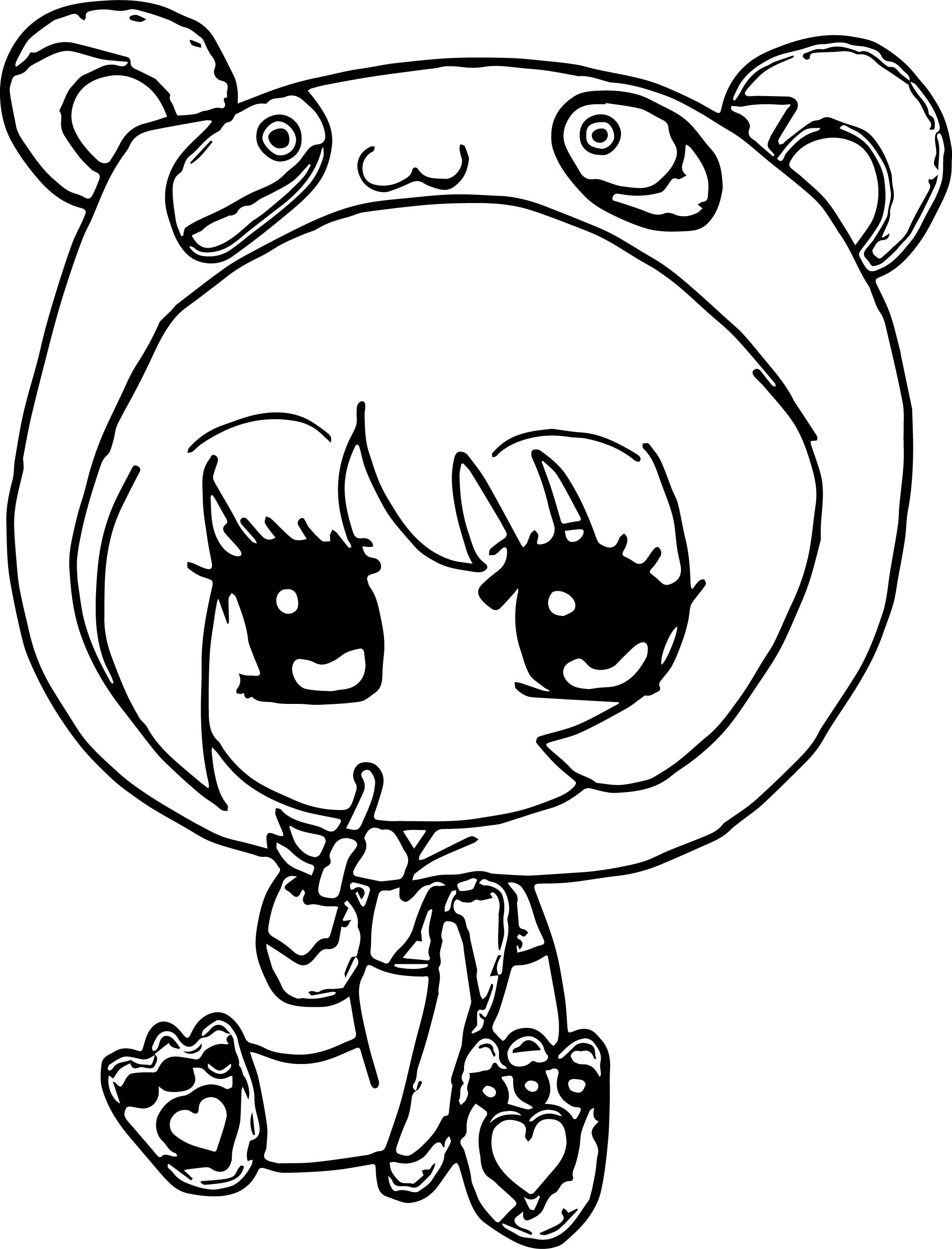 anime chibi boy coloring pages - photo#45