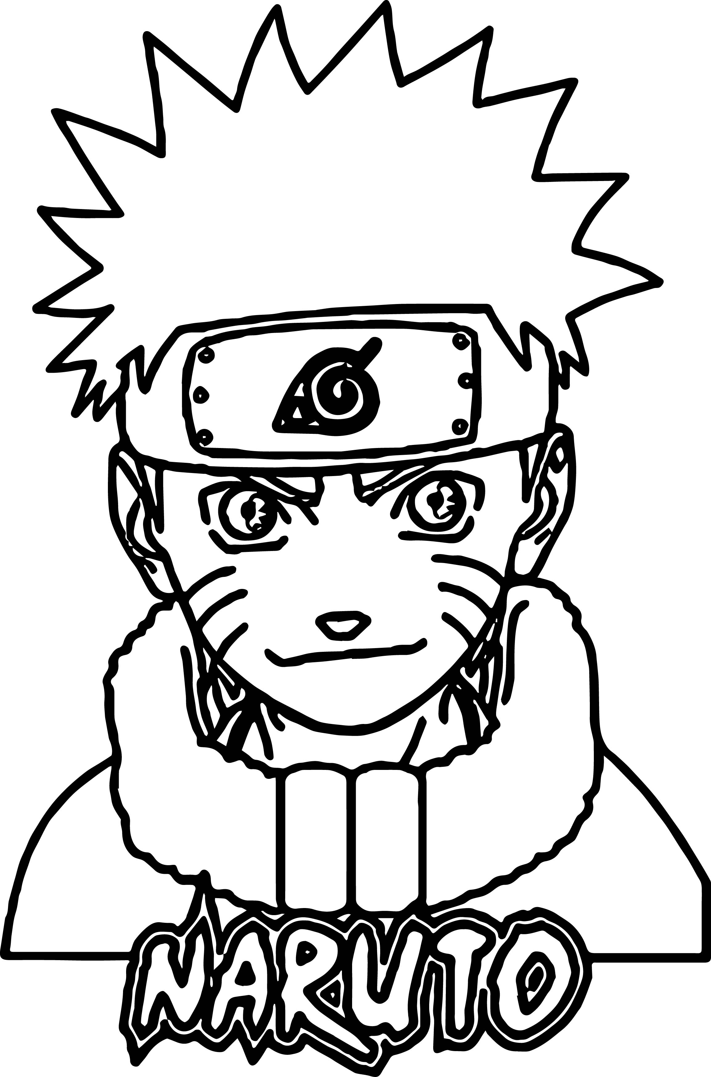 Naruto Coloring Pages Alluring Anime Naruto Coloring Page  Wecoloringpage Decorating Inspiration