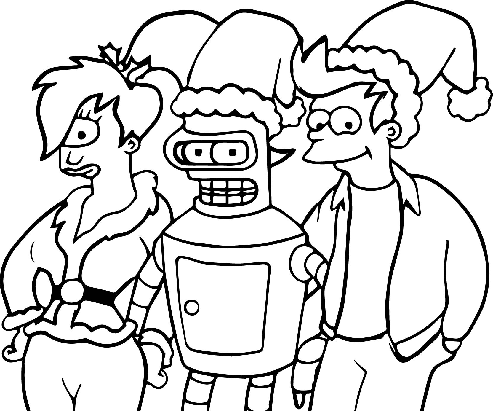 Anime Robot One Eye Girl And Boy Coloring Page Wecoloringpage