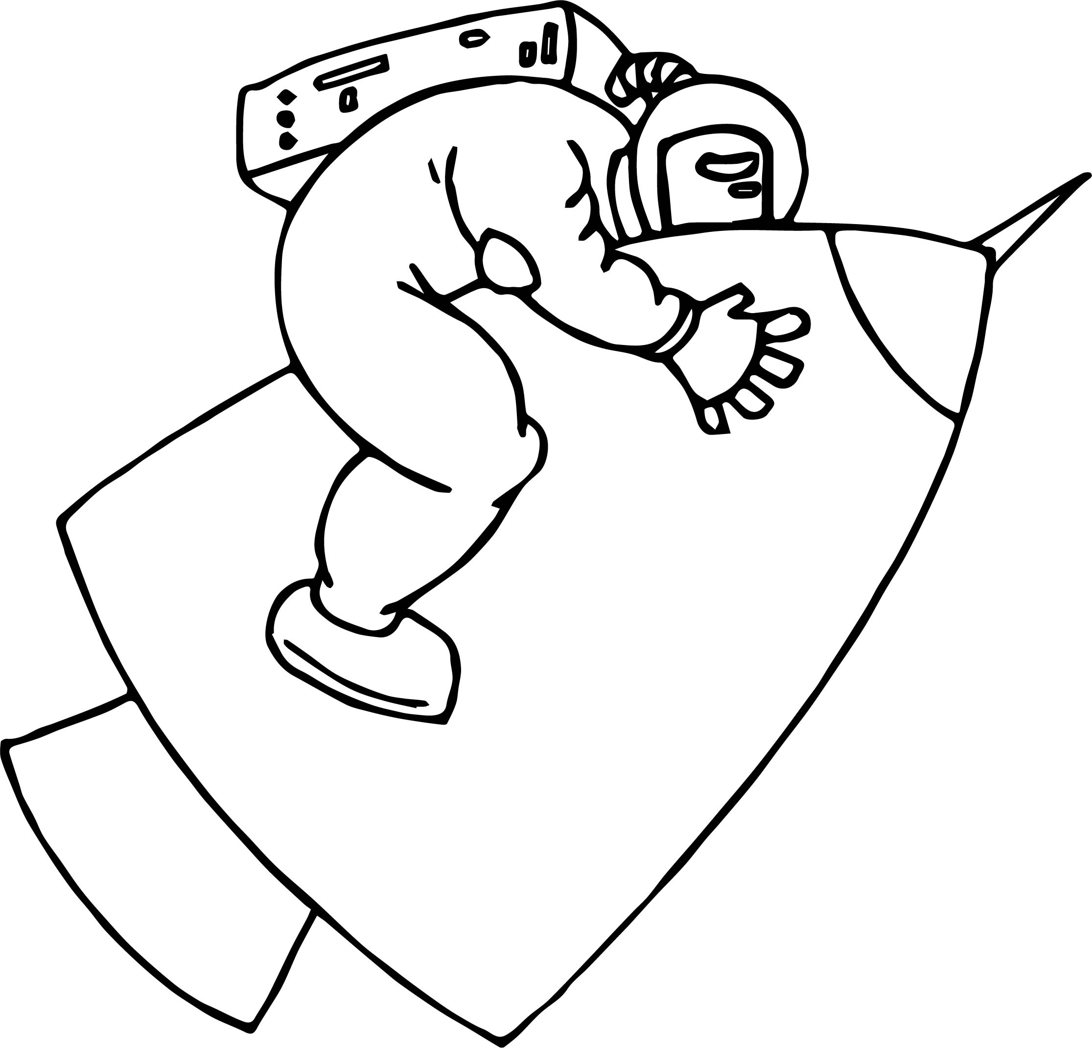 Astronaut Hard Fly Coloring Page